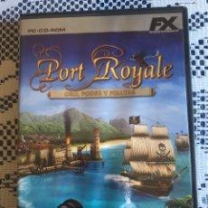 Videojuegos y Consolas: JUEGO PC PORT ROYALE FX INTERACTIVE. Lote 148697345