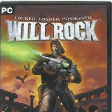 Videojuegos y Consolas: WILL ROCK. Lote 148709058