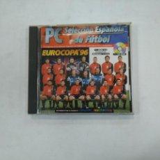 Videojuegos y Consolas: PC FUTBOL EUROCOPA 96 CD ROM SELECCION ESPAÑOLA DE FUTBOL ESPAÑA DINAMIC MULTIMEDIA. TDKV25. Lote 148734826