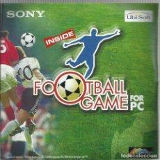 Videojuegos y Consolas: SONY FOOTBALL GAME. Lote 148843958