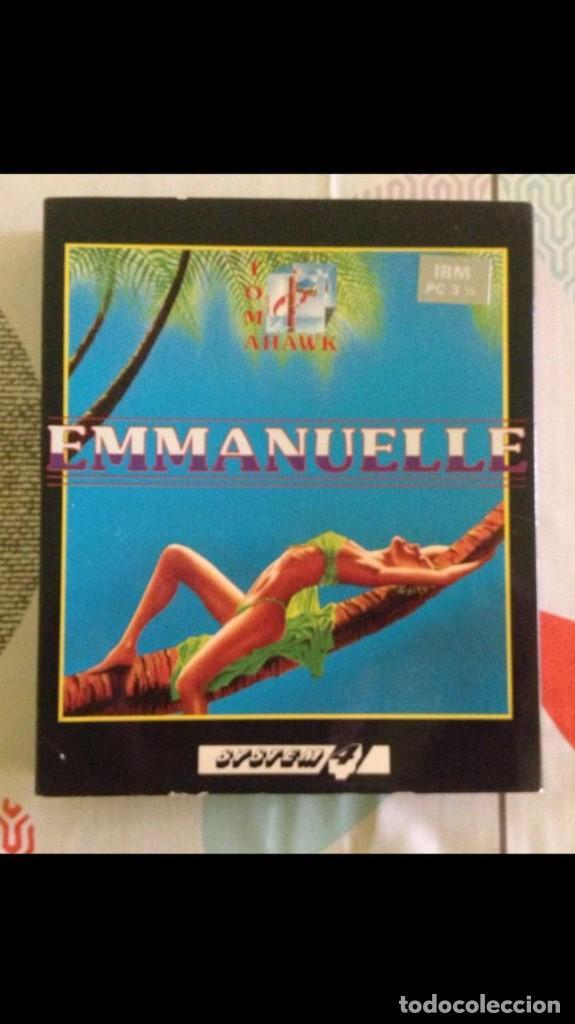 JUEGO DE PC ENMANUELLE IBM DISKETTE (Juguetes - Videojuegos y Consolas - PC)