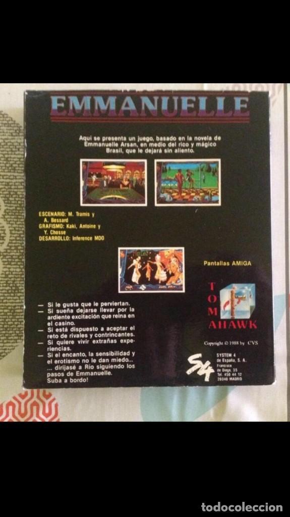 Videojuegos y Consolas: Juego de pc Enmanuelle IBM diskette - Foto 2 - 149229810