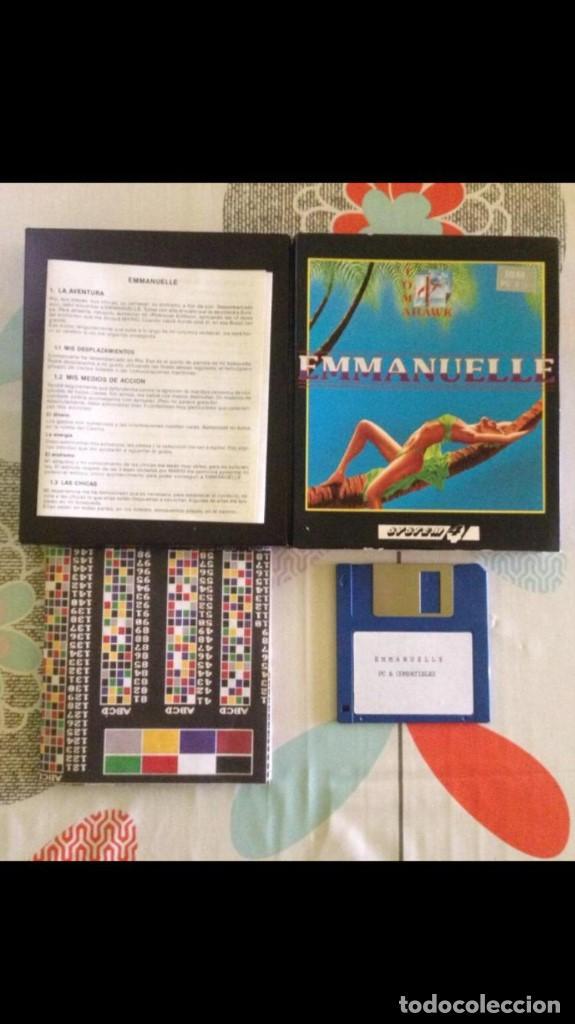 Videojuegos y Consolas: Juego de pc Enmanuelle IBM diskette - Foto 3 - 149229810