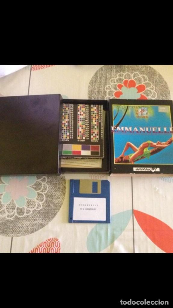 Videojuegos y Consolas: Juego de pc Enmanuelle IBM diskette - Foto 4 - 149229810