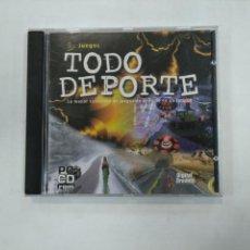 Videojuegos y Consolas: JUEGOS. TODO DEPORTE. DIGITAL DREAMS MULTIMEDIA. PC CD-ROM. TDKV25. Lote 149314246