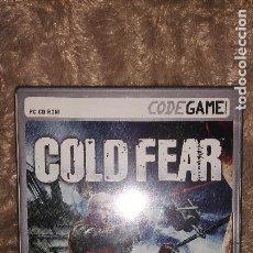 Videojuegos y Consolas: COLD FEAR, COLECCIÓN CODEGAME, EN CASTELLANO, PC CD ROM. Lote 150017782