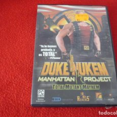 Videojuegos y Consolas: DUKE NUKEM MANHATTAN PROJECT TOTAL MUTANT MAYHEM PC JUEGO. Lote 150106274