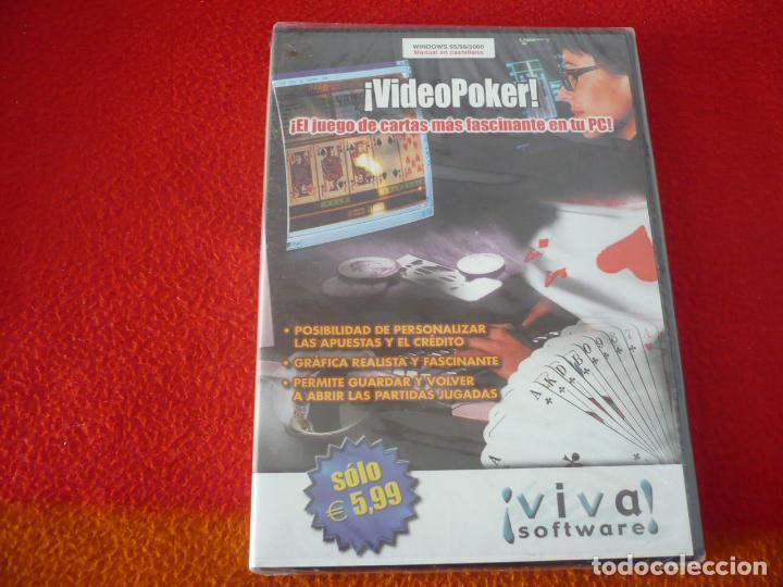VIDEOPOKER PC JUEGO ¡PRECINTADO! (Juguetes - Videojuegos y Consolas - PC)
