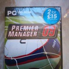 Videojuegos y Consolas: PC CD-ROM PREMIER MANAGER 09 MITRE ZOO-JUEGO DE ORDENADOR PRECINTADO. Lote 150224890