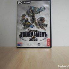 Videojuegos y Consolas: UNREAL TOURNAMENT 2003 PC - JUEGO PC . Lote 150288134
