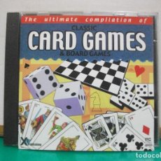 Videojuegos y Consolas: THE ULTIMATE COMPILATION CLASSIC CARD GAMES & BOARD GAMES CD PC PEPETO. Lote 150325458