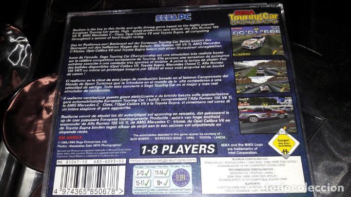 Videojuegos y Consolas: JUEGO SEGA TOURING CAR CHAMPIONSHIP PARA PC - Foto 2 - 150629790
