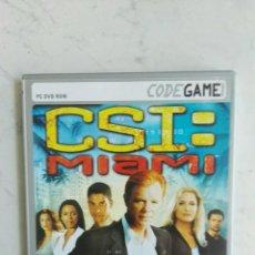 Videojuegos y Consolas: CSI MIAMI PC AVENTURA GRÁFICA. Lote 150676528