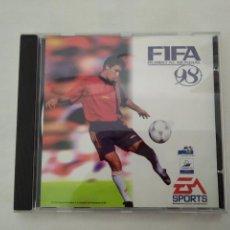 Videojuegos y Consolas: FIFA 98 ANTIGUO JUEGO PC ELECTRONIC ARTS SPORT. Lote 150680642
