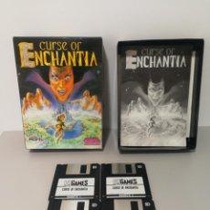 Videojuegos y Consolas: CURSE OF ENCHANTIA PC COMPLETO EN DISQUETES . Lote 150767010