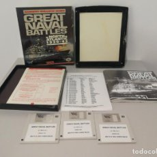 Videojuegos y Consolas: GREAT NAVAL BATTLES NORTH ATLANTIC PC COMPLETO EN DISQUETES. Lote 150767882