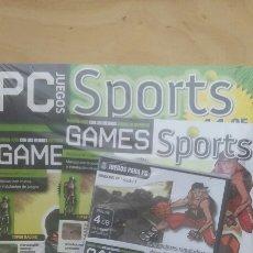 Videojuegos y Consolas: GAMES SPORT 65 JUEGOS EN 1 PC. Lote 150975884