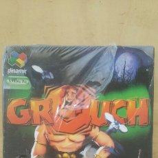 Videojuegos y Consolas: ANTIGUO JUEGO PC GROUCH NUEVO. Lote 150979617