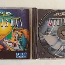 Videojuegos y Consolas: 3-D ULTRA MINIGOLF (PC-CD, 1997) FOR WINDOWS 95-. Lote 151057686