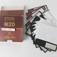 Videojuegos y Consolas: ANTIGUOS DISCOS DE 5 1/4 CON 14 DISCOS DE JUEGOS_4. Lote 151061434