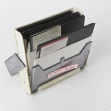 Videojuegos y Consolas: ANTIGUOS DISCOS DE 5 1/4 CON 10 PROGRAMAS_7. Lote 151063142