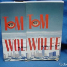 Videojuegos y Consolas: TOM WOLFE - A MAN IN FULL - 6 CASETES DE AUDIO - 1998. Lote 151323306