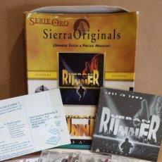 Videojuegos y Consolas: URBAN RUNNER SERIE ORO / SIERRA ORIGINALS / COMPLETO 4 CDS DE LUJO / BIG BOX / CAJA USADA. Lote 151346362
