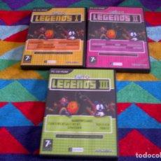 Videojuegos y Consolas: TAITO LEGENDS, PARTES 1, 2 Y 3 -- CD-ROM. Lote 151458714