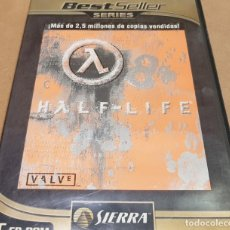 Videojuegos y Consolas: HALF-LIFE / PC CD-ROM / SIERRA / BEST SELLER SERIES / LEVES MARCAS DE USO.. Lote 151472014