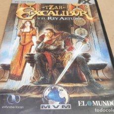 Videojuegos y Consolas: TZAR-EXCALIBUR Y EL REY ARTURO / PC CD-ROM / FX INTERACTIVE / DE BUENA CALIDAD.. Lote 151473138