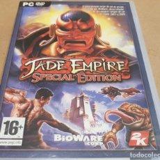 Videojuegos y Consolas: JADE EMPIRE - SPECIAL EDITION / BIOWARE CORP / PC DVD-ROM 2K / CALIDAD LUJO.. Lote 151484846