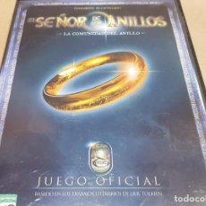 Videojuegos y Consolas: EL SEÑOR DE LOS ANILLOS / LA COMUNIDAD DEL ANILLO / JUEGO OFICIAL / PC CD-ROM / BLACK LABEL /. Lote 151485626