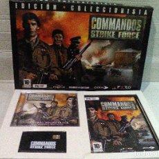 Videojuegos y Consolas: COMMANDOS STRIKE FORCE EDICION COLECCIONISTA PYRO. Lote 151500138