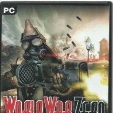 Videojuegos y Consolas: WORLD WAR ZERO. Lote 151587598