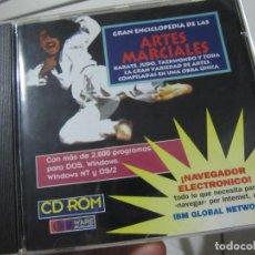 Videojuegos y Consolas: GRAN ENCICLOPEDIA DE LAS ARTES MARCIALES..KARATE..JUDO..TAEKWONDO..1995. Lote 151667846