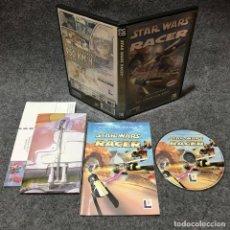 Videojuegos y Consolas: STAR WARS RACER PC. Lote 151687021