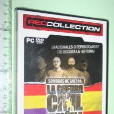 Videojuegos y Consolas: LA GUERRA CIVIL ESPAÑOLA *** EUROPEAN FRONTLINE *** JUEGO PC EN CASTELLANO (PRECINTADO). Lote 151876822