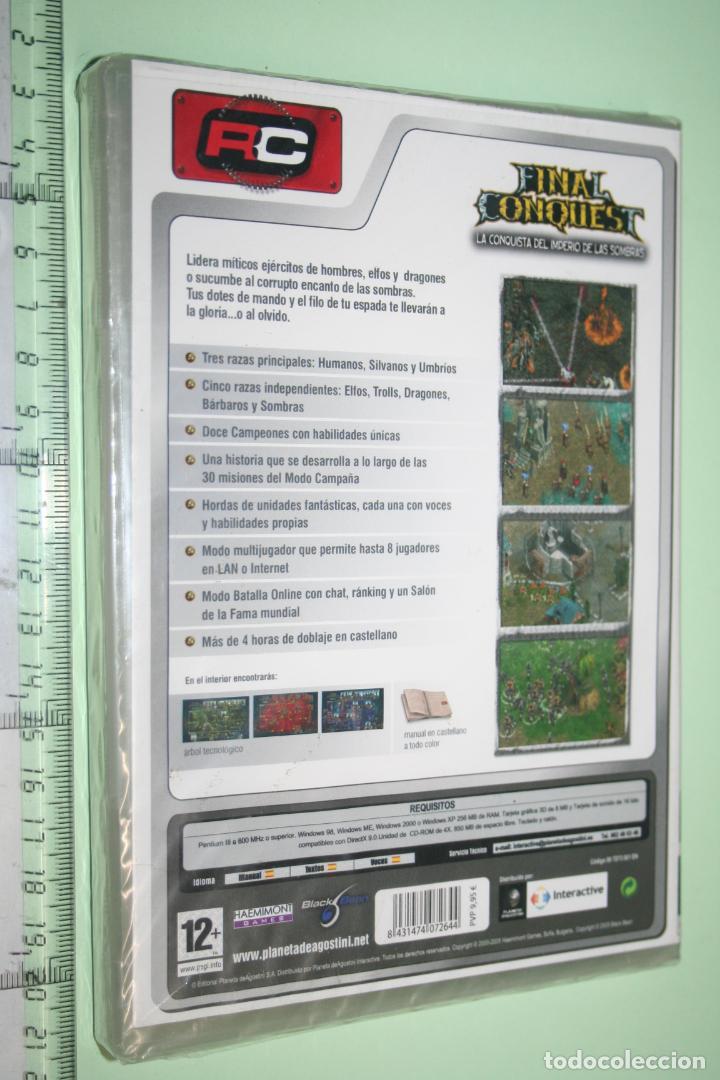Videojuegos y Consolas: FINAL CONQUEST *** EUROPEAN FRONTLINE *** JUEGO PC EN CASTELLANO (PRECINTADO) - Foto 2 - 151877206