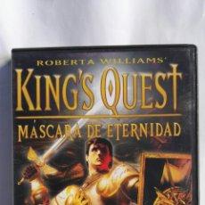 Videojuegos y Consolas: KING'S QUEST PC MÁSCARA DE ETERNIDAD. Lote 152147578
