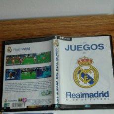 Videojuegos y Consolas: LOS JUEGOS DEL REAL MADRID. Lote 152178482