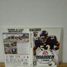 Videojuegos y Consolas: NFL MADDEN 2005. Lote 152208205