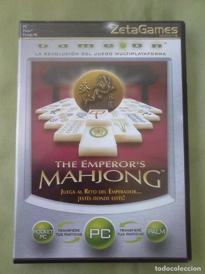 JUEGO PC THE EMPEROR´S MAHJONG. AÑO 2002 (Juguetes - Videojuegos y Consolas - PC)
