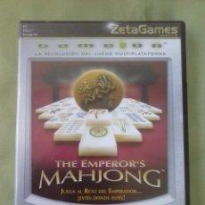 Videojuegos y Consolas: JUEGO PC THE EMPEROR´S MAHJONG. AÑO 2002. Lote 253992155