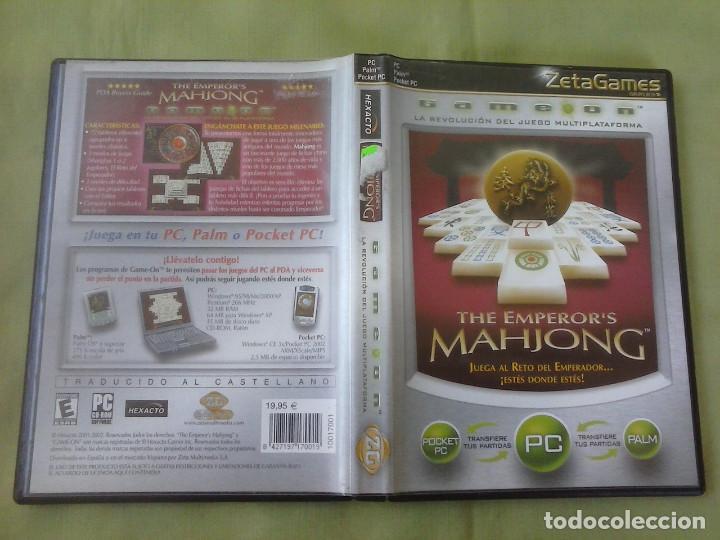 Videojuegos y Consolas: Juego PC The Emperor´s Mahjong. Año 2002 - Foto 4 - 253992155