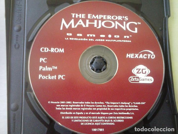 Videojuegos y Consolas: Juego PC The Emperor´s Mahjong. Año 2002 - Foto 5 - 253992155