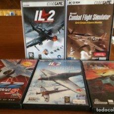 Videojuegos y Consolas: VIDEOJUEGOS DE AVIONES. Lote 153208469