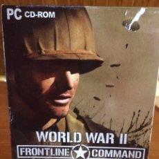 Videojuegos y Consolas: VIDEOJUEGO WORL WAR II. FRONTLINE COMMAND. Lote 153210254