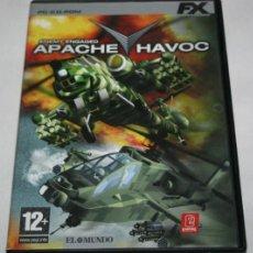 Videojuegos y Consolas: APACHE HAVOC, JUEGO PC FX. Lote 153503446