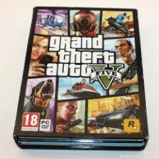 Videojuegos y Consolas: GRAND THEFT AUTO V - PC - 7 DVD. Lote 210310032