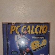 Videojuegos y Consolas: PC CALCIO 6.0 TEMPORADA 97-98 - JUEGO PARA PC. Lote 153880046